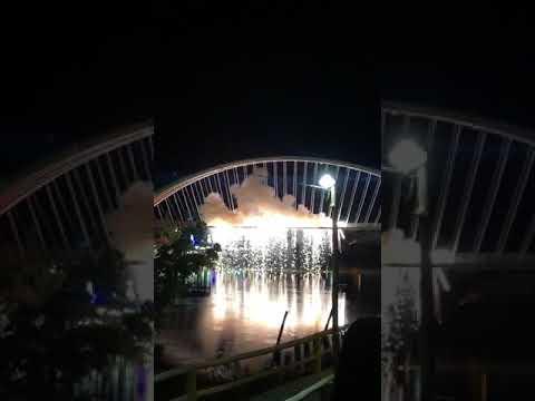 Queima de fogos em santa Maria da Vitória - Bahia. Virada de ano  2019/2020