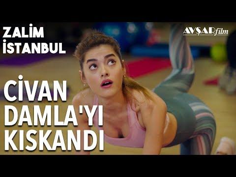 Civan Damla'yı Pilates Hocasından Kıskandı💕 Bakar Mı Lan O Kız Sana | Zalim İstanbul 16. Bölüm