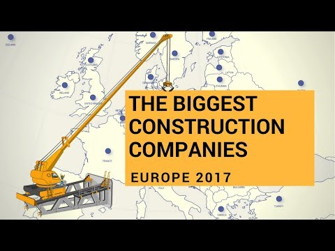 Biggest Construction Companies in Europe - GenieBelt