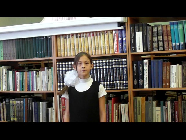 Изображение предпросмотра прочтения – МарияКоростелева читает произведение «Парус (Белеет парус одинокий…)» М.Ю.Лермонтова