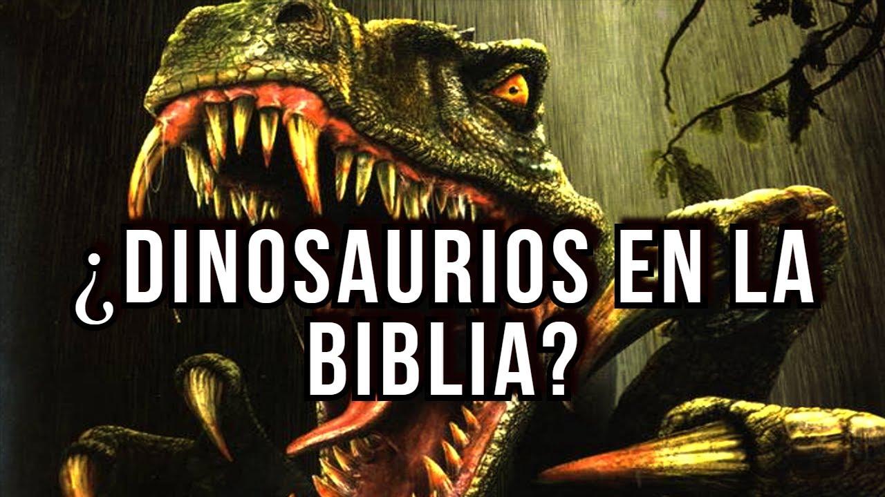 ¿DINOSAURIOS EN LA BIBLIA? la biblia habla de dragones, se extinguieron en el diluvio de Noé
