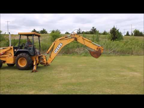1999 John Deere 410E Turbo backhoe for sale | sold at auction May 29, 2014