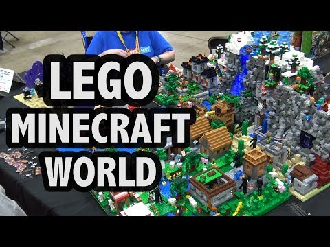 Thumbnail: Every LEGO Minecraft Set Combined Into One Creation