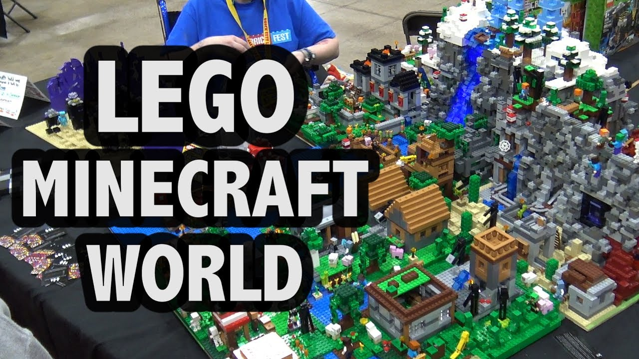Every LEGO Minecraft Set Combined Into One Creation