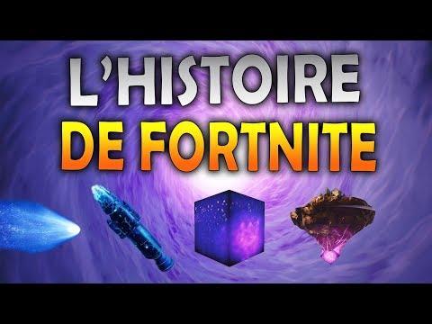 L'HISTOIRE DE FORTNITE DE LA MÉTÉORITE AU CUBE ! (LIRE LA DESCRIPTION AVANT LA VIDEO)