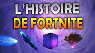 STORY OF FORTNITY FROM METÉORITE TO CUBE!