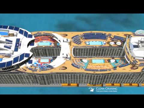 Oasis Of The Seas Flyby In Google Earth YouTube - Cruise ship google earth