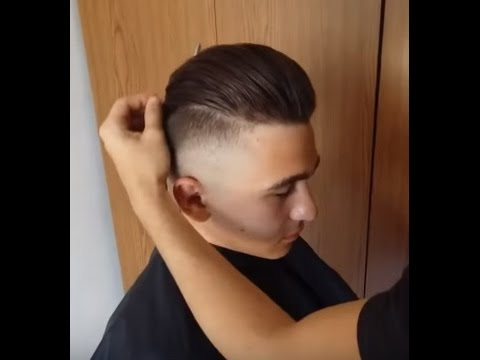 How To Undercut Long Slick Back Skin Fade 2018 Hairstyle Mens
