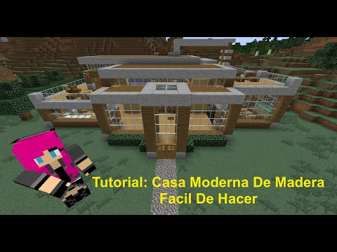 Full download minecraft casa moderna de madera facil for Casa moderna tutorial facil de hacer