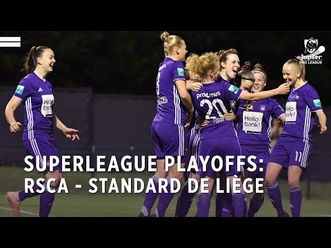 Superleague Playoffs: RSCA 3-1 Standard de Liège