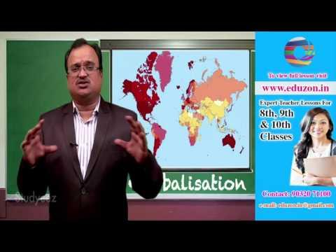 Globalisation:  10th class Social studies