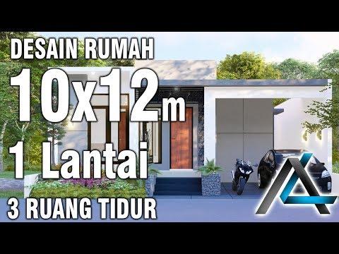 Rumah Minimalis 2 Lantai Ukuran 9x12  desain rumah 10x12 meter 1 lantai jasadesain jasaarsitek