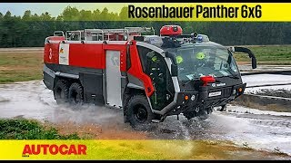 Rosenbauer Panther 6x6 Fire Truck | Feature | Autocar India
