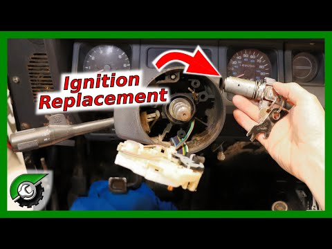 How to Replace Ignition Switch: Jeep Wrangler, Ignition Cylinder