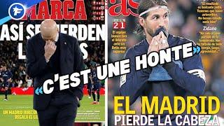 La grosse colère de Zinédine Zidane après la défaite du Real Madrid | Revue de presse