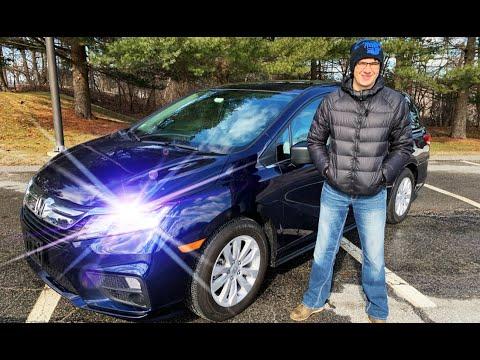 Первый русскоязычный обзор 2019 Хонда Одиссей (Honda Odyssey)! Автомобиль будущего и люкс для семьи