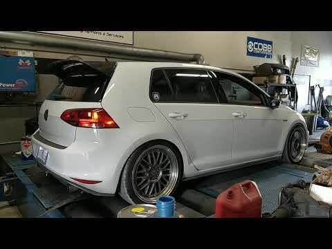 Mk7 GTI Stratified automotive dyno - YouTube