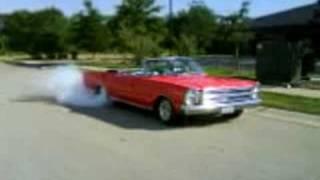 1966 Galaxie 500XL Burnout