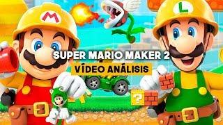 ANÁLISIS SUPER MARIO MAKER 2: BIENVENIDOS a SUPER MARIO 2D WORLD
