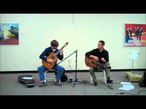 Paul Oman and Sean Farris - Classical Guitar Performance