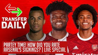 Partey Time! How Did You Rate Arsenal's Signings? | AFTV Transfer Daily Special LIVE