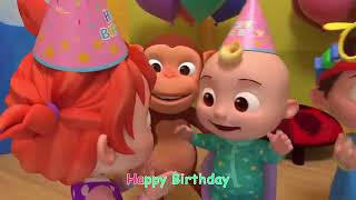 Happy Birthday Song CoCoMelon Nursery Rhymes & Kids Songs 1
