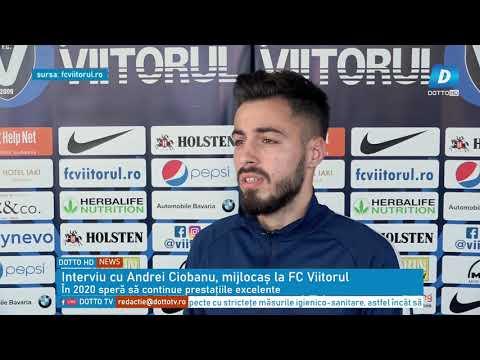 Interviu cu Andrei Ciobanu, mijlocaș la FC Viitorul