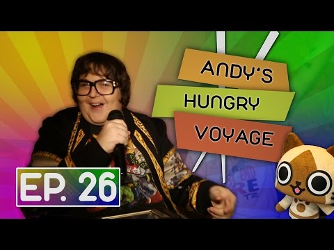 Robot Shopping, Sushi, and Karaoke! | Andy's Hungry Voyage
