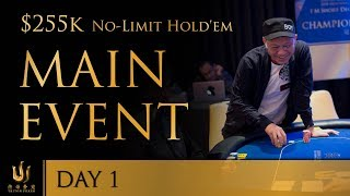 Triton Poker Series JEJU 2018 - Main Event No Limit Hold'em $255K Buy-In 1/3