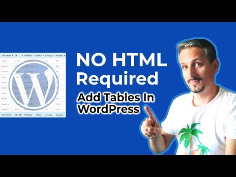 TablePress Tutorial: Add WordPress Tables Without Coding thumbnail