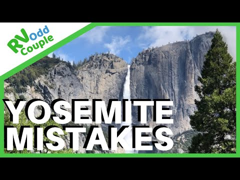 Stuck in Yosemite (BooHoo) & 5 Yosemite Mistakes & Travel Tips