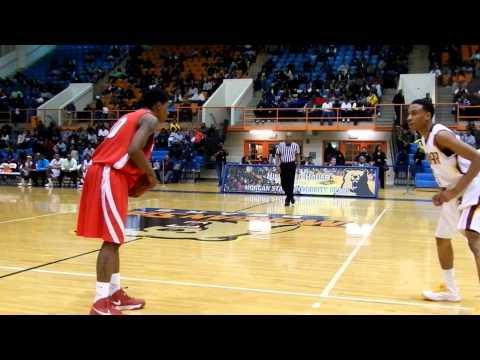 Edmondson/Dunbar boys basketball Baltimore City Division I finals 2/19/13