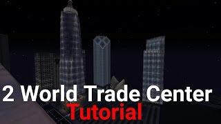 Minecraft : 2 World Trade Center tutorial Part 1 ( from New York )