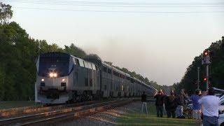 "Amtrak P098 and P052 ""Auto Train"" at Railwatch 2013"