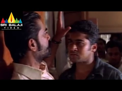 Yuva Movie Surya Warning to Guru Scene | Suriya, Madhavan, Siddharth | Sri Balaji Video