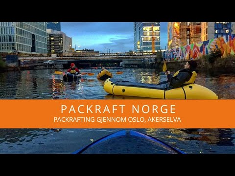 Packrafting gjennom Oslo, Akerselva