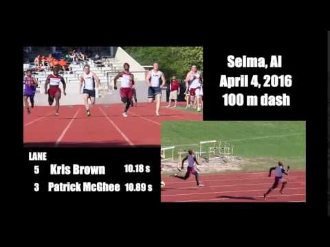 Escambia Academy Kris Brown 100m 10.19s