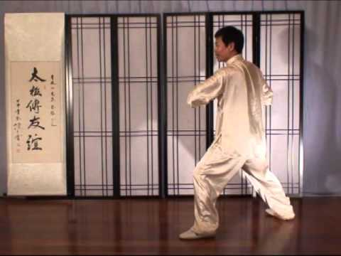 Jesse Tsao Taiji Fajin 4 Tai Chi Strike Low & Linked Elbows