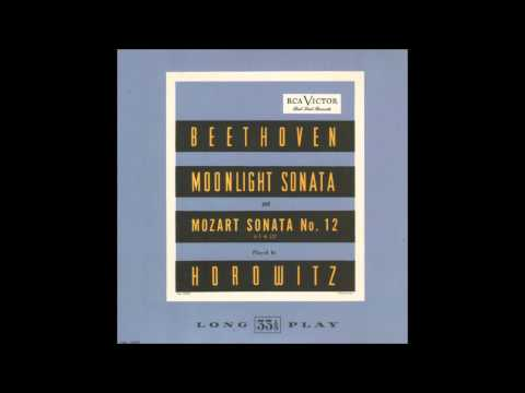 V. Horowitz - Piano Sonata No. 12, K. 332 in F (W.A. Mozart) [1947]
