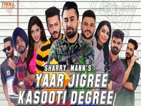 Yaar Jigree Kasooti Degree Song Ringtone Sharry Mann new Punjabi ringtone