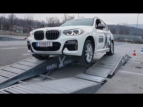 BMW X3 M40i 2018 offroad - wheel articulation (xDrive test)