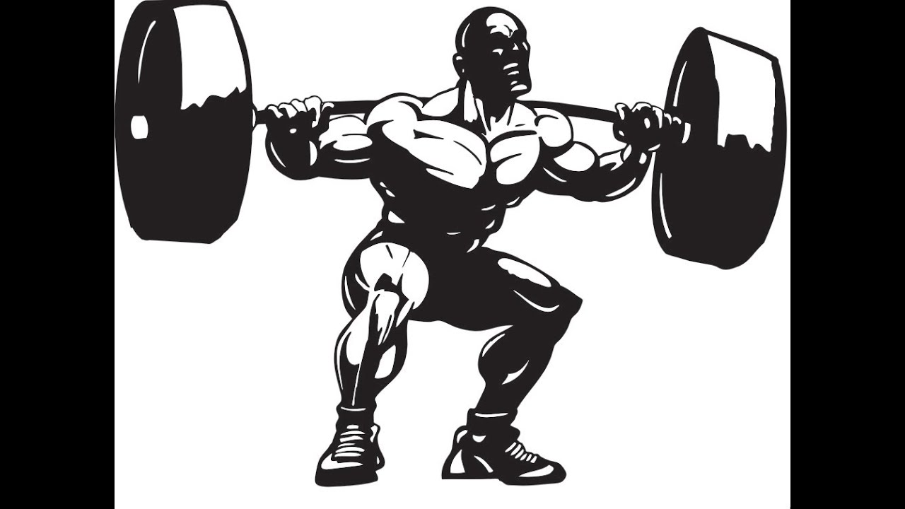 powerlifting squat workout sample video from my video Girl Working Out Clip Art Yoga Clip Art