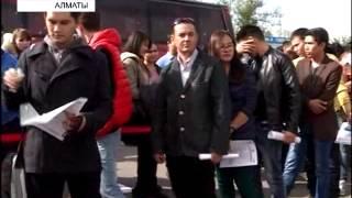 В Алматы прошел кастинг на шоу «Х-фактор»