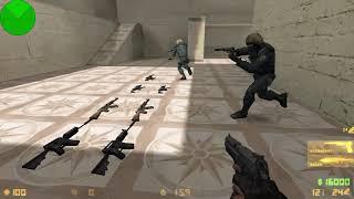 Edhardy Ragnar on fire - Random Counter Strike Condition Zero Gameplay