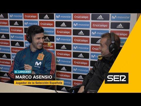 Entrevista a Marco Asensio en El Larguero