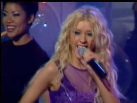 christina aguilera when you put your hands on me live muchmusic 2000 youtube