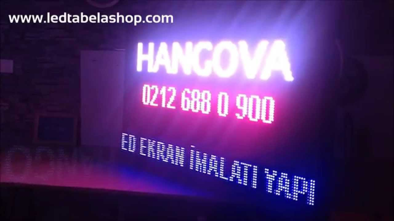 Hangova RGB Led Ekran Full Color