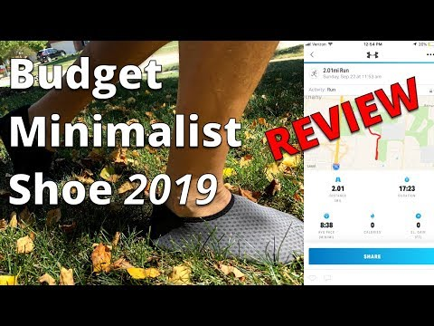 Budget Priced Minimalist Running Shoe Review 2019 #MinimalistRunner