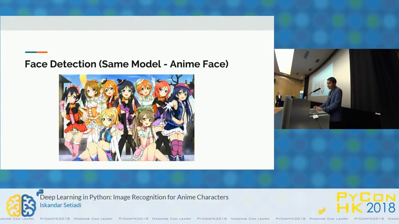 Image from Deep Learning in Python: Image Recognition for Anime Characters