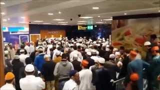 Shaykh al Islam Madani Miya UK arrival 9/8/2015